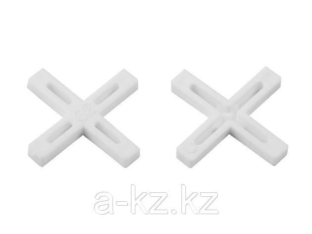 Крестики ЗУБР для кафеля, 6мм, 75шт, 33811-6, фото 2