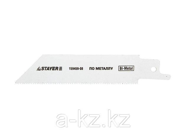 Полотно STAYER PROFI  S522EF для сабельной эл. ножовки Bi-Met,тонколистовой, профильный металл, нерж сталь, цвет мет, 159459-08, фото 2