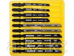 Пилки для электролобзика STAYER 15981-H10-3, PROFI МАСТЕР №3, по дереву, металлу и пластику, EU-хвостик, 10 шт