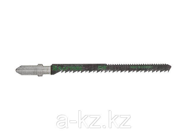 Пилки для электролобзика KRAFTOOL 159514-2,5, Cr-V, по дереву, фанере, ламинату, фигурный рез, EU-хвостик, шаг 2,5 мм, 75 мм, 2 шт, фото 2