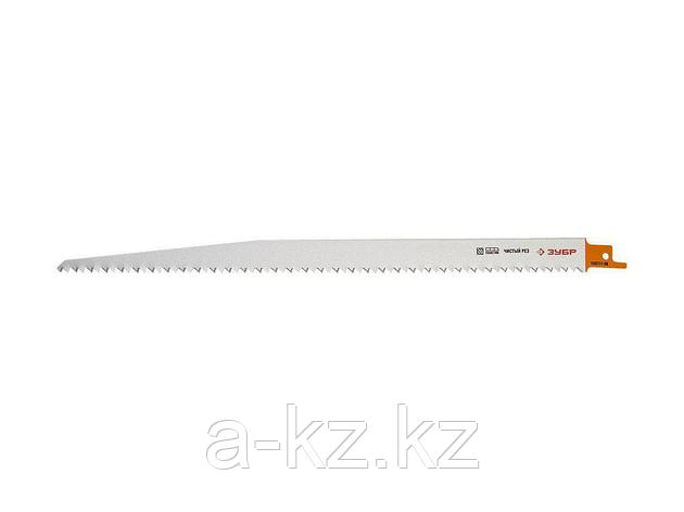 Полотно ЗУБР ЭКСПЕРТ S1344D для саб эл. ножовки Cr-V,быстрый,чистый распил твердой и мягкой древес,пластика,280/4,2мм, 155711-28, фото 2
