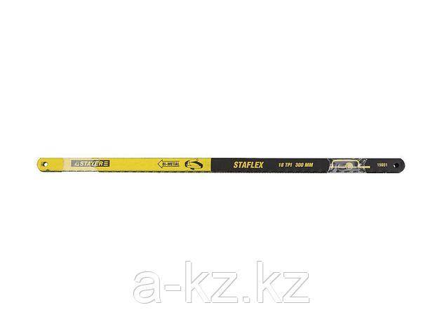 Полотно для ножовки по металлу STAYER 15931-S50, PROFI STAYER-FLEX, биметаллическое, 18 TPI, 300 мм, 50 шт., фото 2
