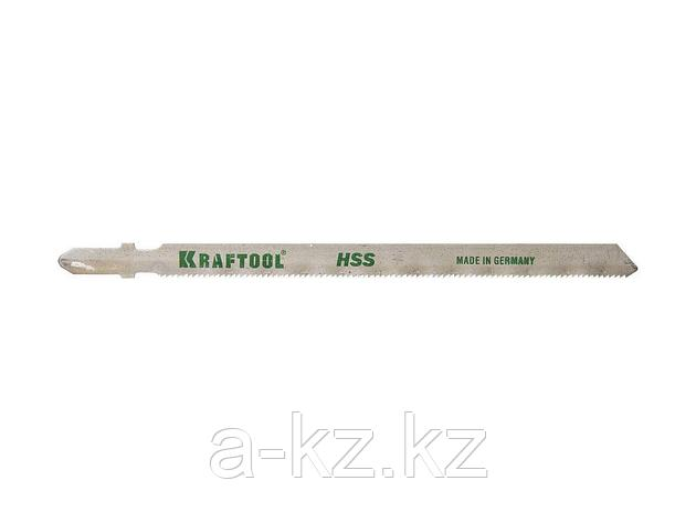 Пилки для электролобзика KRAFTOOL 159552-1,2, HSS, по металлу (1-3мм), EU-хвостик, шаг 1,2мм, 110 мм, 2 шт, фото 2