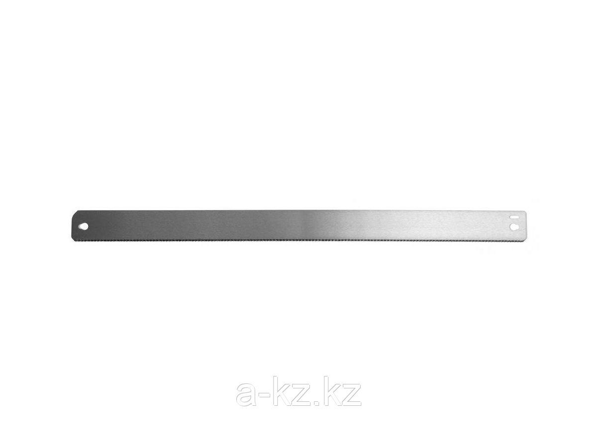 Полотно для ножовки по металлу ЗУБР 15448-14-560, ЭКСПЕРТ, для стусла металлического, по дереву, точный рез, 560 мм