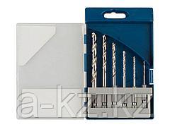 Набор ЗУБР Сверла ЭКСПЕРТ по металлу, шестигранный хвостовик 1/4, быстрорежущая сталь Р6М5, 2,3,4,5,6,8мм, 6 пред, 29623-H6