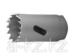 Буровая коронка биметаллическая ЗУБР 29531 025_z01, ЭКСПЕРТ, быстрорежущая сталь, глубина сверления до 38 мм, d 25мм