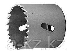Буровая коронка биметаллическая ЗУБР 29531 044_z01, ЭКСПЕРТ, быстрорежущая сталь, глубина сверления до 38 мм, d 44 мм