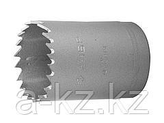 Буровая коронка биметаллическая ЗУБР 29531 038_z01, ЭКСПЕРТ, быстрорежущая сталь, глубина сверления до 38 мм, d 38 мм