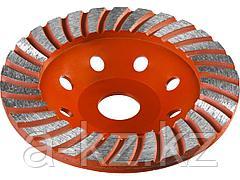 Алмазная шлифовальная чашка по бетону ЗУБР 33375-125, МАСТЕР сегментированная, 125мм