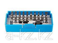 Набор бит для шуруповерта ЗУБР 26091-H32, биты из хромомолибденовой стали, 31 бита - 25 мм, адаптер, 32 предмета