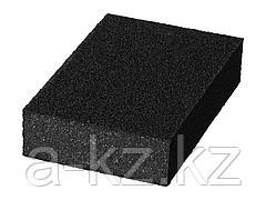 Губка абразивная шлифовальная STAYER 3560-1_z01, MASTER, четырехсторонняя, зерно - оксид алюминия,  Р120; 100 x 68 x 26 мм