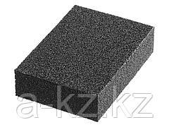 Губка абразивная шлифовальная STAYER 3560-4, MASTER, четырехсторонняя, зерно - оксид алюминия,  Р320, 100 x 68 x 26 мм