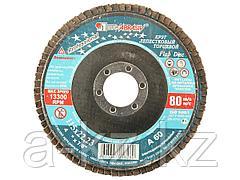 Круг шлифовальный лепестковый Луга 3656-115-25, абразивный, 115 х 22,23 мм, зерно P60