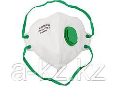 Респиратор фильтрующий STAYER 11113-2, PROFI, плоский, с клапаном, многослойный, класс защиты FFP2