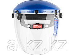 Щиток защитный лицевойСИБИН11086, сэкраномизполикарбоната, храповый механизм