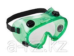Очки защитные ЗУБР 11026, МАСТЕР, закрытого типа, с непрямой вентиляцией, линза поликарбонатная