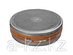Фильтр сменный для промышленных противогазов РПГ-67, 11141_z01, марка А1 от паров бензина, ацетона, хлора, набор из 2 шт.