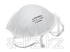 Респиратор фильтрующий STAYER 11109, PROFI, конический многослойный, класс защиты FFP1