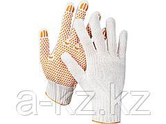 Перчатки STAYER МASTER трикотажные, 7 класс, х/б, с защитой от скольжения, L-XL, 10пар, 11397-H10