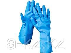 Перчатки ЗУБР ЭКСПЕРТ нитриловые, повышенной прочности, с х/б напылением, размер S, 11255-S