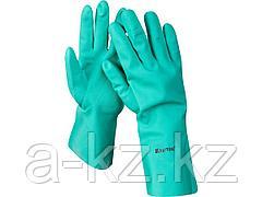 Перчатки нитриловые KRAFTOOL 11280-XXL, маслобензостойкие, повышенной прочности, с х/б напылением, размер XXL