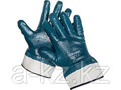 Перчатки ЗУБР МАСТЕР рабочие с полным нитриловым покрытием, размер M (8), 11270-M