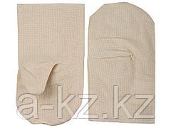 Рукавицы хлопчатобумажные, двунитка с двойным наладонником, XL, 11412