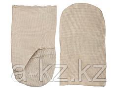 Рукавицы хлопчатобумажные, двунитка с защитой от скольжения ПВХ, XL, 11413