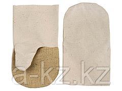 Рукавицы хлопчатобумажные с брезентовым наладонником, XL, 11421