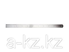 Линейка ЗУБР ЭКСПЕРТ нержавеющая, двусторонняя, непрерывная шкала 1/2мм / 1мм, двухцветная, длина 0,5м, толщина 0,7мм, 34280-1-050