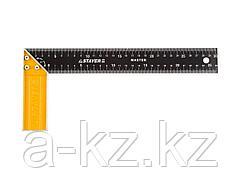 Угольник столярный STAYER 3430-30_z01, MASTER, стальное полотно, 300 мм