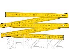Метр складной STAYER MASTER деревянный, 1м, 3422-1_z01