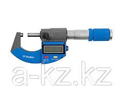 Микрометр ЗУБР ЭКСПЕРТ гладкий цифровой, МКЦ 25, диапазон 0-25мм, шаг измерения 0,001мм, 34482-25_z01