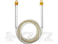 Гидроуровень STAYER 3486-06-05, MASTER, с усиленной измерительной колбой большого размера, d 6 мм, 5 м