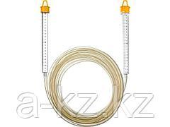Гидроуровень STAYER 3486-06-07, MASTER, с усиленной измерительной колбой большого размера, d 6 мм, 7 м