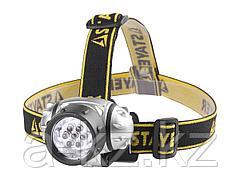 Фонарь налобный  STAYER 56572, светодиодный, 7LED, 3 режима, 3ААА