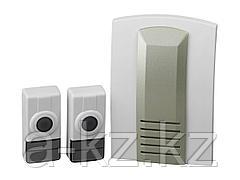 Звонок дверной беспроводной СВЕТОЗАР SV-58066-2, ВОЛНА, 16 мелодий, 2 кнопки, 4,5 В