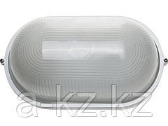 Светильник уличный СВЕТОЗАР SV-57203-W, влагозащищенный, овал, цвет белый, 100 Вт