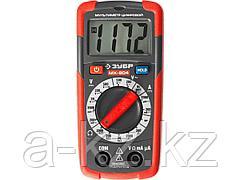 Мультиметр цифровой ЗУБР 59804, МХ-804, МАСТЕР, пробник и тестер напряжения