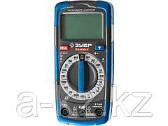 Мультиметр цифровой ЗУБР 59810, ТХ-810-Т, ЭКСПЕРТ, пробник и тестер напряжения