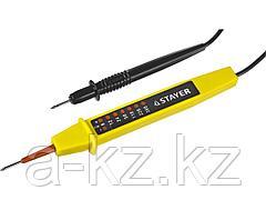 Пробник и тестер напряжения STAYER 45284, МASTER, 6 - 380 В, 180 мм