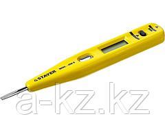 Пробник и тестер напряжения STAYER 45290, MASTER, цифровой со световым индикатором, 12 - 220 В, 125 мм