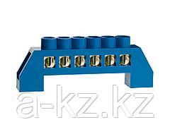 Шина СВЕТОЗАР нулевая, в изоляц оболочке,  макс. ток 100А, 5мм, 6 полюсов, 49805-06