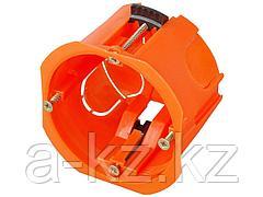 Коробка установочная СВЕТОЗАР для полых стен, макс. напряжение 400В, с пластиковыми лапками, 68х47мм, SV-54913