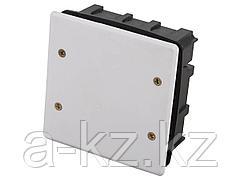 Коробка монтажная СВЕТОЗАР для подштукатурного монтажа, макс. напряжение 400В, с крышкой, 100х100х50мм, квадратная, SV-54927