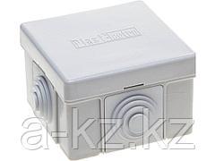 Коробка распределительная СВЕТОЗАР для наружного монтажа, макс. напряжение 400В, IP 54, 4 ввода, 65х65х40мм, SV-54954