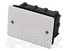 Коробка монтажная СВЕТОЗАР для подштукатурного монтажа, макс. напряжение 400В, с крышкой, 100х60х50мм, прямоугольная, SV-54925