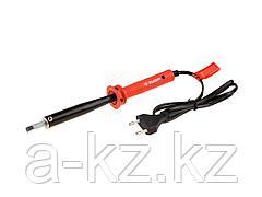 Паяльник электрический ЗУБР 55400-100_z01, МАСТЕР, с пластиковой рукояткой и долговечным жалом, форма клин, 100 Вт