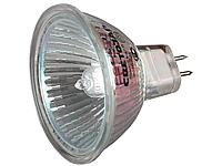 Лампа галогенная, СВЕТОЗАР, с защитным стеклом, цоколь GU5.3, диаметр 51мм, 20Вт, 12В, SV-44722