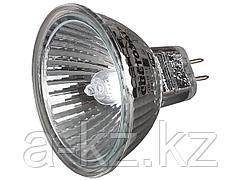Лампа галогенная, СВЕТОЗАР, с защитным стеклом, алюм. отражатель, цоколь GU5.3, диаметр 51мм, 20Вт, 12В, SV-44732
